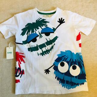 フェンディ(FENDI)のフェンディ 訳あり Tシャツ 7歳 キッズ  モンスター Tシャツ 男の子 子供(Tシャツ/カットソー)