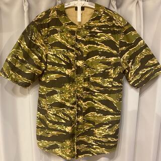 フリーホイーラーズ(FREEWHEELERS)のフリーホイーラーズ カモフラベースボールシャツ(シャツ)