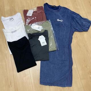 ロデオクラウンズワイドボウル(RODEO CROWNS WIDE BOWL)のRodeoCrowns トップスまとめ売り 新品3点含む7点セット(Tシャツ(半袖/袖なし))