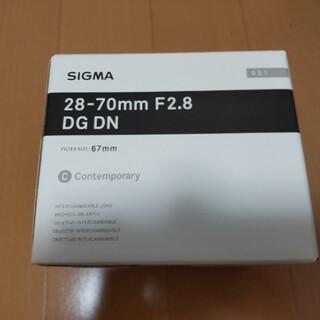 シグマ(SIGMA)のシグマ  交換レンズ 28-70mm F2.8 DG DN ソニー用(レンズ(ズーム))