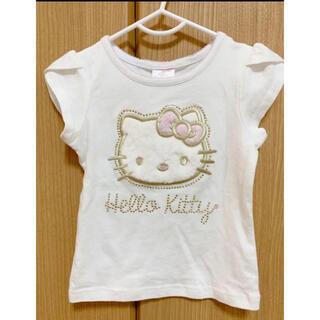 ハローキティ(ハローキティ)のTシャツ ハローキティー サンリオ 100cm 子供服(Tシャツ/カットソー)