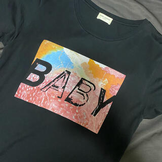 Saint Laurent - 【名作】SAINT LAURENT PARIS BABY Tシャツ