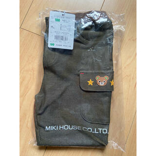 mikihouse - 新品 ミキハウス プッチーくん パンツ 100