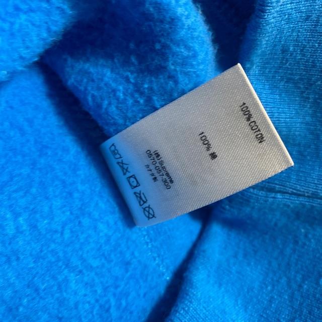 Supreme(シュプリーム)の最安値 L box logo crewneck ブルー メンズのトップス(スウェット)の商品写真