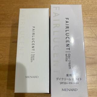 MENARD - フェアルーセント デイクリーム&ベースクリーム