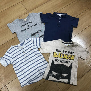 エイチアンドエム(H&M)の80センチ Tシャツ 4枚セット(Tシャツ)