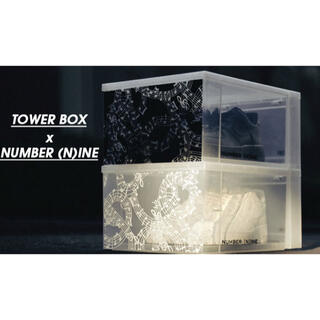 ナンバーナイン(NUMBER (N)INE)のタワーボックス×ナンバーナイン アトモス ブラック(ケース/ボックス)