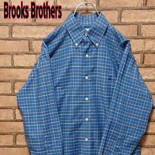 ブルックスブラザース(Brooks Brothers)のBrooks Brothers ブルックスブラザーズ 格子柄 長袖 シャツ(シャツ)