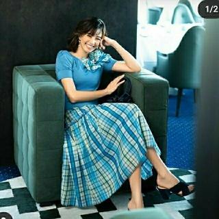 エムズグレイシー(M'S GRACY)の新品エムズグレイシー スカート(ひざ丈スカート)