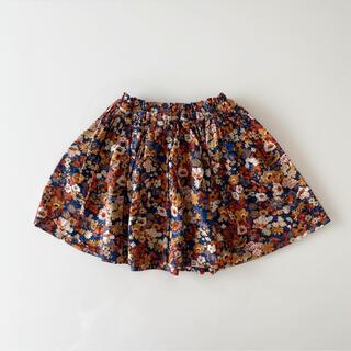 キャラメルベビー&チャイルド(Caramel baby&child )のハンドメイド リバティ ソープ  スカート 90 100(スカート)