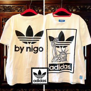 adidas - アディダス NIGO 自由の女神 Tシャツ ホワイト タンクトップ ジャージ