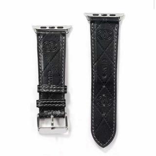 アップルウォッチ(Apple Watch)のApple Watchレザーベルト 42mm/44mmケース (レザーベルト)