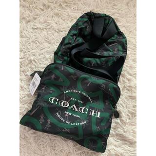 コーチ(COACH)の【新品】COACH 折り畳みナイロンリュック(バッグパック/リュック)