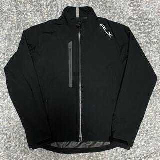 ラルフローレン(Ralph Lauren)のRLX  Nylon jacket Black 美品 ナイロンジャケット(ナイロンジャケット)