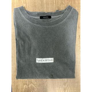 ジーナシス(JEANASIS)のJEANASIS / ピグメントロゴTEE(Tシャツ(半袖/袖なし))