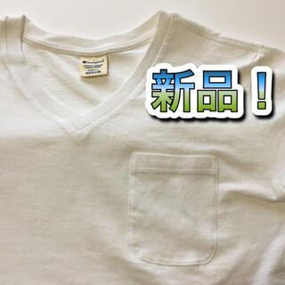Champion - 【新品】 Champion チャンピオン Vネック Tシャツ