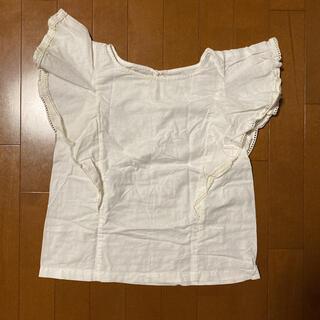 マーキュリーデュオ(MERCURYDUO)のマーキュリーデュオ ブラウス トップス フリル Tシャツ(シャツ/ブラウス(半袖/袖なし))