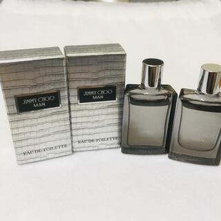JIMMY CHOO - 新品 ジミーチュウ マン オードトワレ4.5mlx2個セット ミニ香水 匿名配送