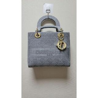 Christian Dior - 《大人気》 ミディアムバッグ レディ D-LITE ハンド バッグ