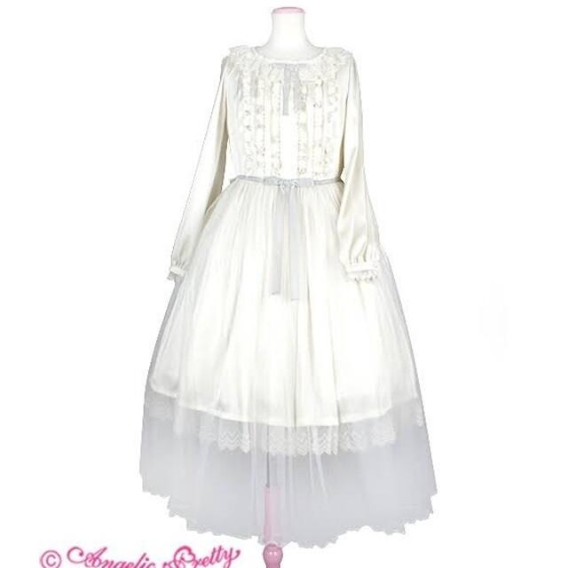 Angelic Pretty(アンジェリックプリティー)のAngelicPretty  乙女のチュチュdoll ワンピース レディースのワンピース(ロングワンピース/マキシワンピース)の商品写真