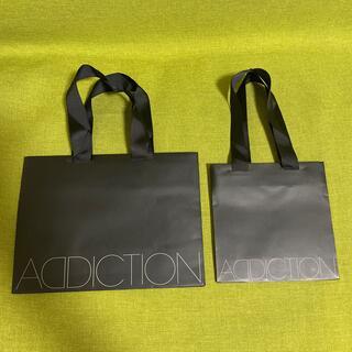 アディクション(ADDICTION)のADDICTION  アディクション ショップ袋 2枚セット(ショップ袋)