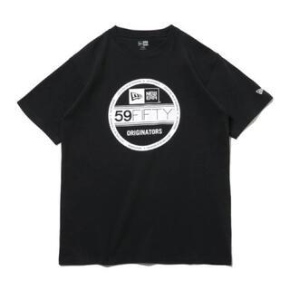 ニューエラー(NEW ERA)の【NEW ERA】コットン Tシャツ バイザーステッカー レギュラーフィット(Tシャツ/カットソー(半袖/袖なし))
