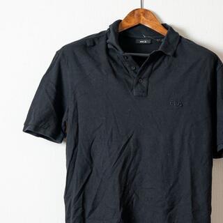 フィラ(FILA)のFILA フィラ ポロシャツ 黒 半袖 (ポロシャツ)