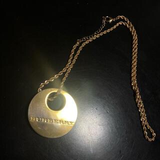 バーバリー(BURBERRY)のBurberry  バーバリー ゴールド ネックレス ヴィンテージ品(ネックレス)