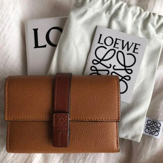 LOEWE - 【新品未使用】ロエベ バーティカル ウォレット スモール 三つ折り 財布
