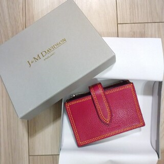 J&M DAVIDSON - J&M DAVIDSON ミニ財布ACCORDION WALLET