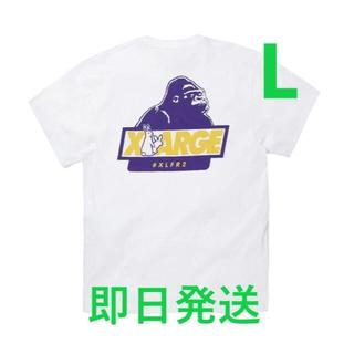 XLARGE - FR2 XLARGE コラボ Rabbit OG Logo T 白 L
