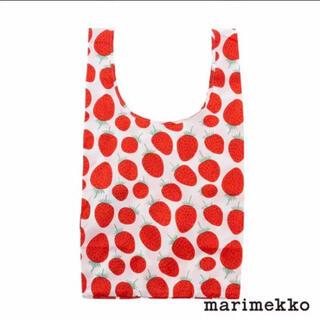 marimekko - 【新品】marimekkoマリメッコ エコバッグ マンシッカいちご