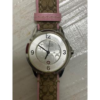 コーチ(COACH)の美品 コーチ腕時計 レディース(腕時計)