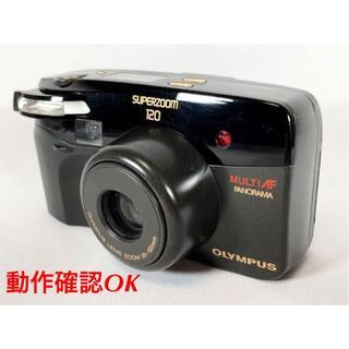 OLYMPUS - 【動作確認済】オリンパス フィルムカメラ SUPERZOOM 120 AF