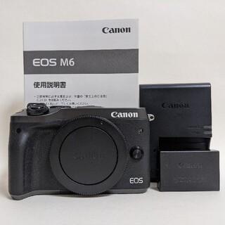 Canon - Canon  EOS M6   ボディ ブラック