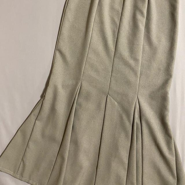 snidel(スナイデル)のsnidel ハイウエストヘムフレアツイルスカート スナイデル レディースのスカート(ロングスカート)の商品写真