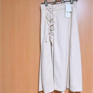 ジルバイジルスチュアート(JILL by JILLSTUART)のジルバイジルスチュアート スカート 新品タグ付き(ひざ丈スカート)