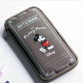 Disney - スプリング 10月号付録 ミッキーマウス クリアポーチ付き文具ケース