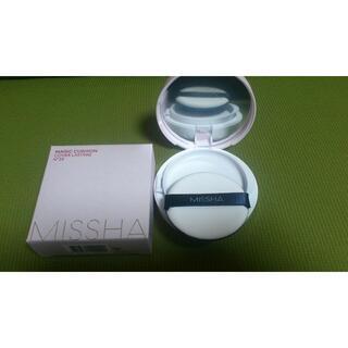 MISSHA - N.23 新品 ミシャ クッションファンデーション カバーラスティング N.23