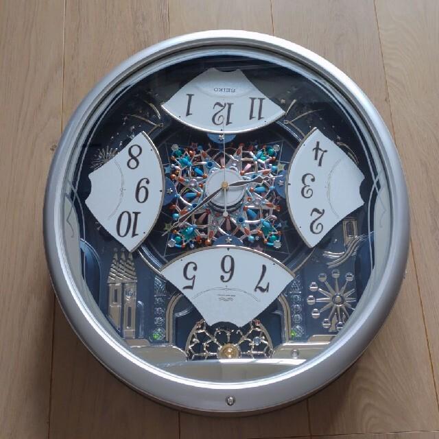 SEIKO(セイコー)のご専用 SEIKO 電波時計 からくり時計 掛け時計 インテリア/住まい/日用品のインテリア小物(掛時計/柱時計)の商品写真