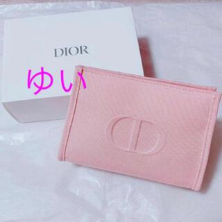 Dior - ディオールポーチディオールノベルティピンクポーチ新品未使用非売品オファー限定品