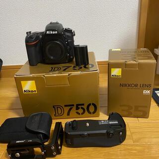 Nikon - Nikon D750 35mmレンズセット+おまけ多数 バラ売り可