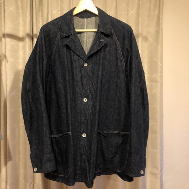 COMOLI(コモリ)のcomoli ワークジャケット メンズのジャケット/アウター(Gジャン/デニムジャケット)の商品写真