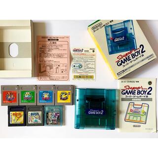 ゲームボーイ(ゲームボーイ)のSFC スーパーゲームボーイ2 ポケモン7種 Super Gameboy 2(家庭用ゲームソフト)