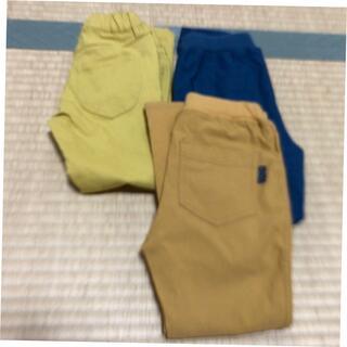 Branshes - 110サイズのズボン3点セット ブランシェス一本と西松屋二本