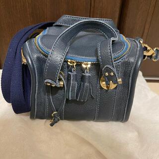トプカピ(TOPKAPI)のトプカピ 紺 ショルダー ハンドバッグ ミニバッグ(ショルダーバッグ)