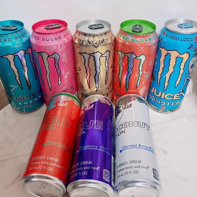 ENERGY DRINK monster energy エナジードリンク 海外 食品/飲料/酒の飲料(その他)の商品写真
