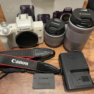 Canon - Canon EOS Kiss M (ホワイト)