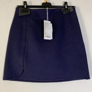 スリーワンフィリップリム(3.1 Phillip Lim)の新品未使用 3.1phillip lim スカート ネイビー フィリップ リム(ひざ丈スカート)