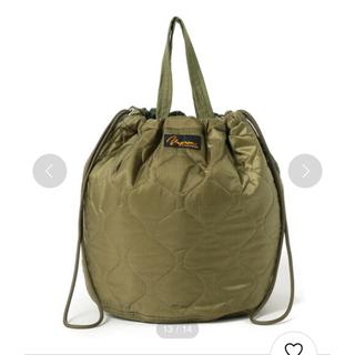 BEAMS BOY - napron ナプロン キルティング キルト バッグ ハンドバッグ